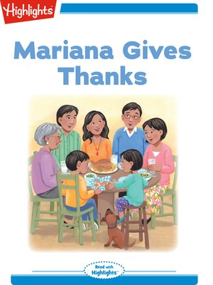 cover image of Mariana Gives Thanks