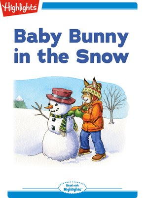 cover image of Baby Bunny in the Snow