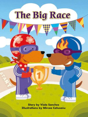 cover image of The Big Race