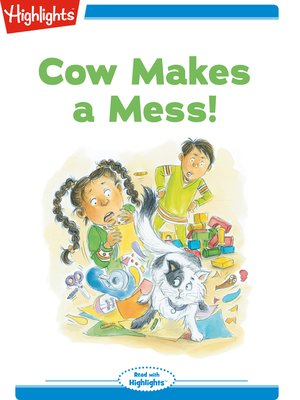 cover image of Cow Makes a Mess