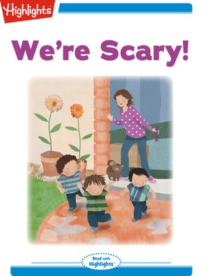 cover image of We're Scary