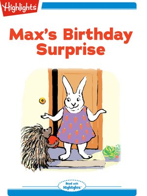 cover image of Max's Birthday Surprise