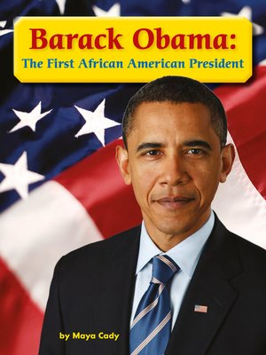 cover image of Barack Obama: The First African American President
