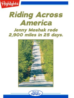 cover image of Riding Across America