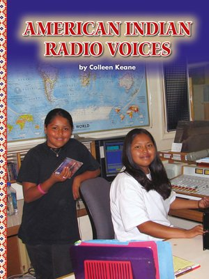 cover image of American Indian Radio Voices