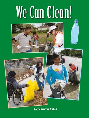 cover image of We Can Clean!