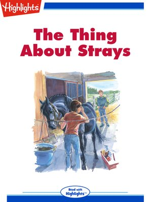 cover image of The Thing About Strays