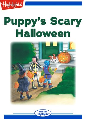 cover image of Puppy's Scary Halloween