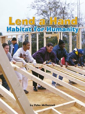 cover image of Lend a Hand Habitat for Humanity