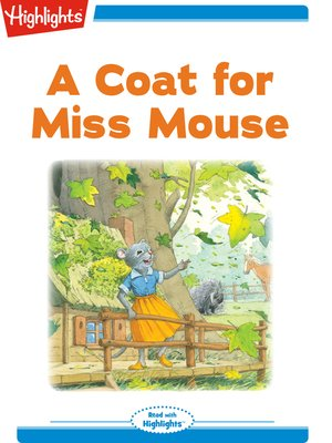 cover image of A Coat for Miss Mouse