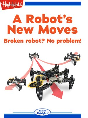 cover image of A Robot's New Moves