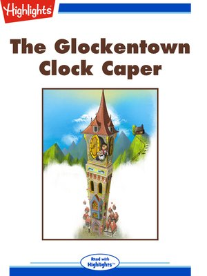cover image of The Glockentown Clock Caper
