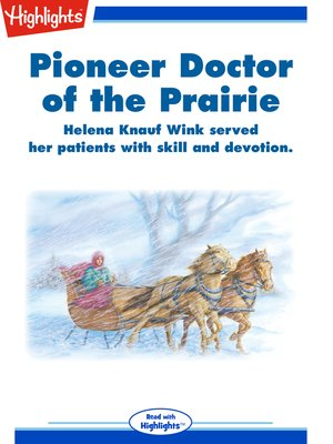 cover image of Pioneer Doctor of the Prairie
