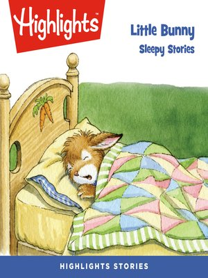 cover image of Little Bunny: Sleepy Stories
