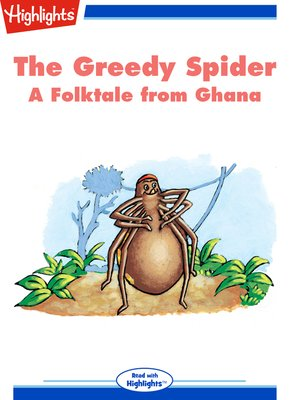 cover image of The Greedy Spider