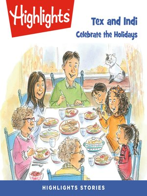 cover image of Tex and Indi: Celebrate the Holidays