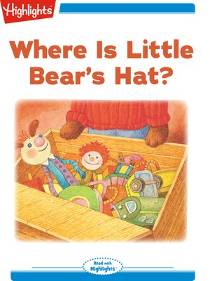 cover image of Where Is Little Bear's Hat?