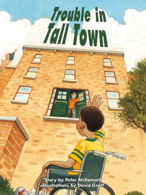 cover image of Trouble in Tall Town