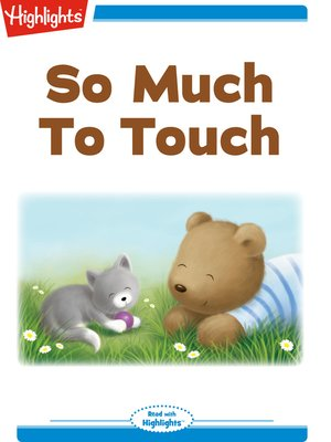 cover image of So Much To Touch