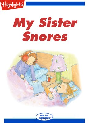 cover image of My Sister Snores