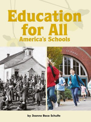 cover image of Education for All