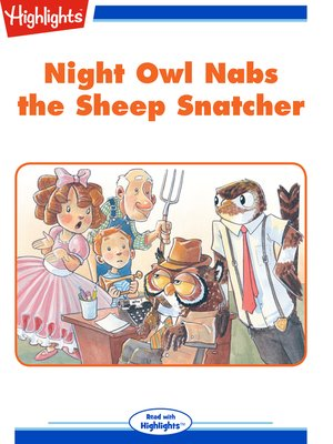 cover image of Night Owl Nabs the Sheep Snatcher