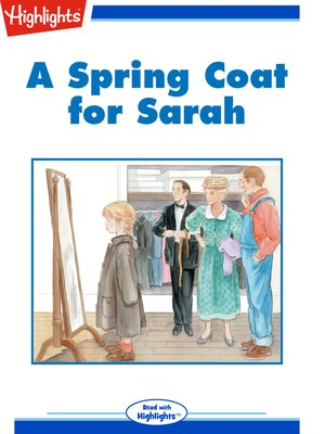 cover image of A Spring Coat for Sarah