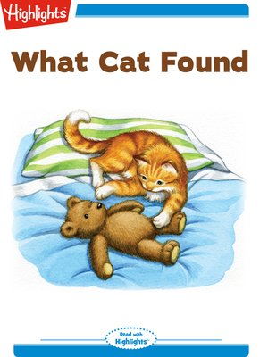 cover image of What Cat Found