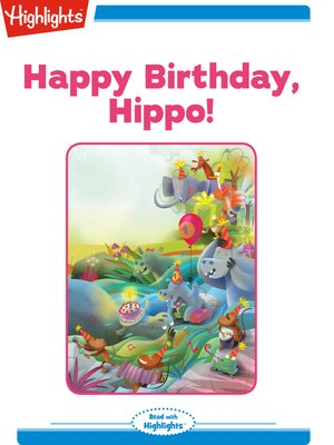 cover image of Happy Birthday Hippo!