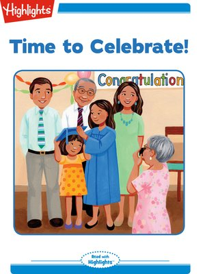 cover image of Time to Celebrate