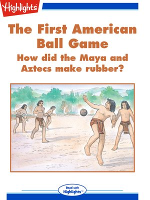 cover image of The First American Ball Game