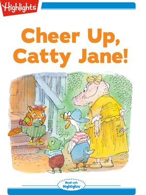 cover image of Cheer Up Catty Jane!