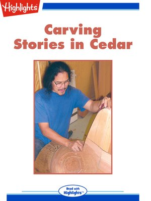 cover image of Carving Stories in Cedar