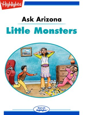 cover image of Ask Arizona: Little Monsters