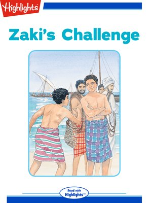 cover image of Zaki's Challenge
