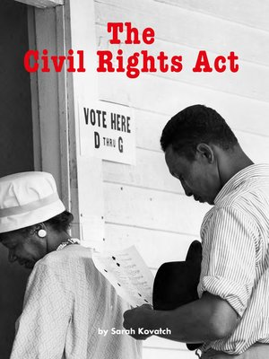 cover image of The Civil Rights Act