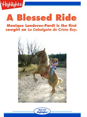 cover image of A Blessed Ride
