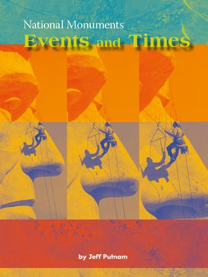 cover image of National Monuments: Events and Times