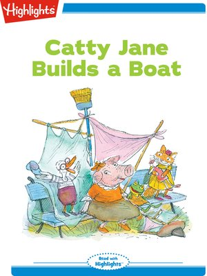 cover image of Catty Jane Builds a Boat
