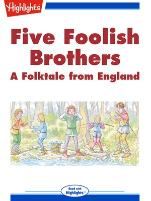 cover image of Five Foolish Brothers