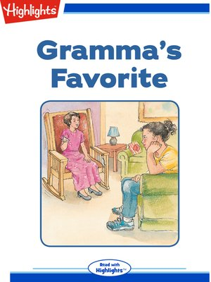 cover image of Gramma's Favorite