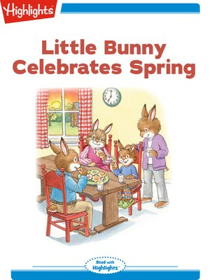 cover image of Little Bunny Celebrates Spring