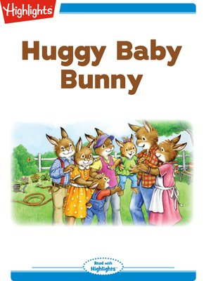 cover image of Huggy Baby Bunny