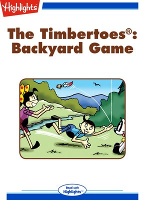cover image of The Timbertoes: Backyard Game
