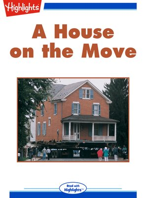 cover image of A House on the Move
