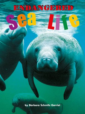 cover image of Endangered Sea Life
