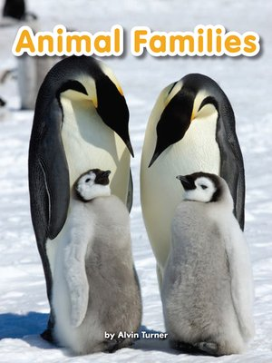 cover image of Animal Families