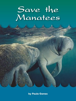 cover image of Save the Manatees