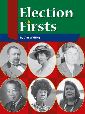 cover image of Election Firsts