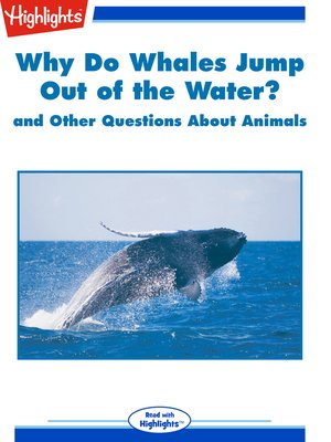 cover image of Why Do Whales Jump out of the Water? and Other Questions About Animals
